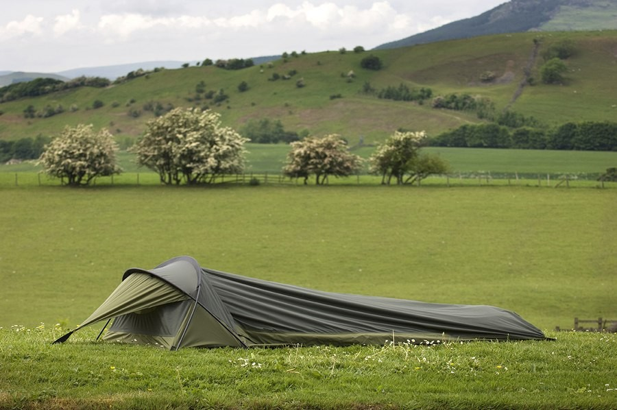 Snugpak Stratosphere Hooped Bivvi Bag - a great one man tent & Stratosphere Hooped Bivvi Bag - a great one man tent